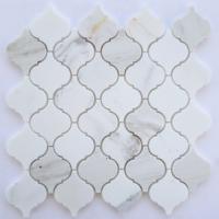 Honed Arabesque Lantern Calacatta Marble